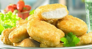 Nuggets de poulet avec thermomix