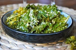 Salade au chou kale