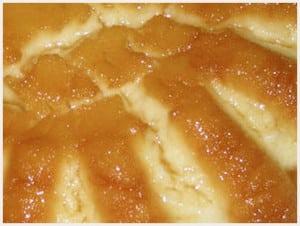 gateau de semoule aux pommes et au caramel avec Thermomix