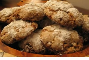 Biscuits aux noix sans gluten