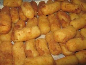 Nuggets de poulet avec la Vache qui rit facile
