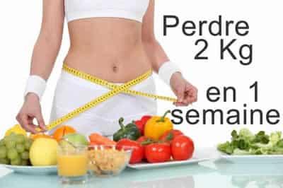 diagramme de régime hypocalorique pour la perte de poids