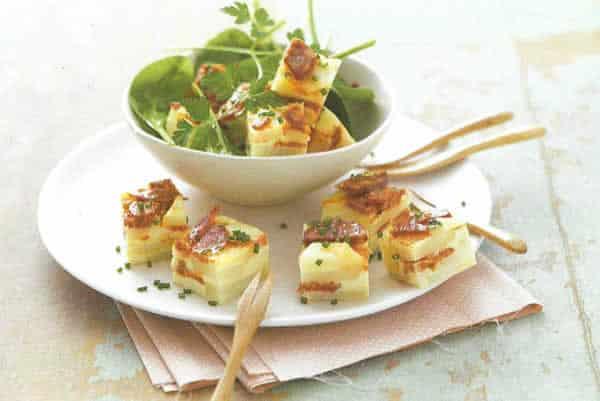 Recette Tortilla de pomme de terre au chorizo Thermomix