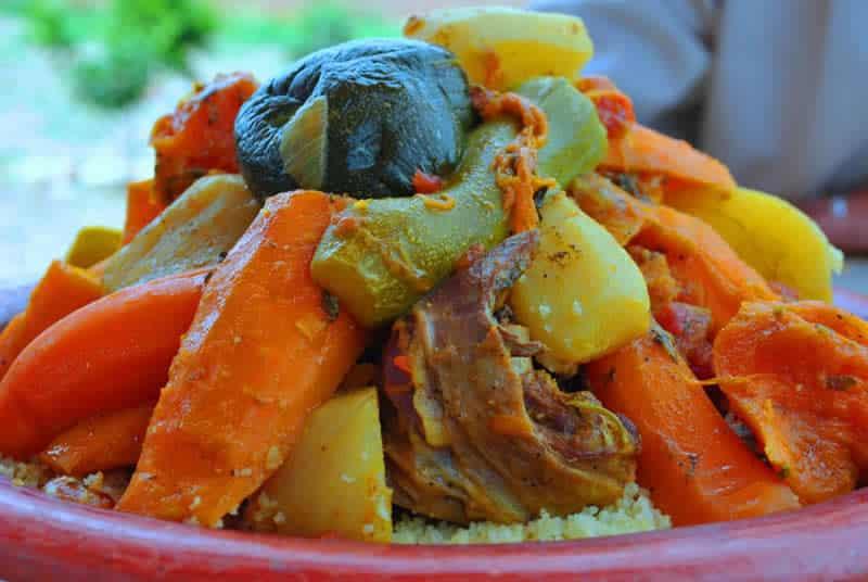 le couscous marocain