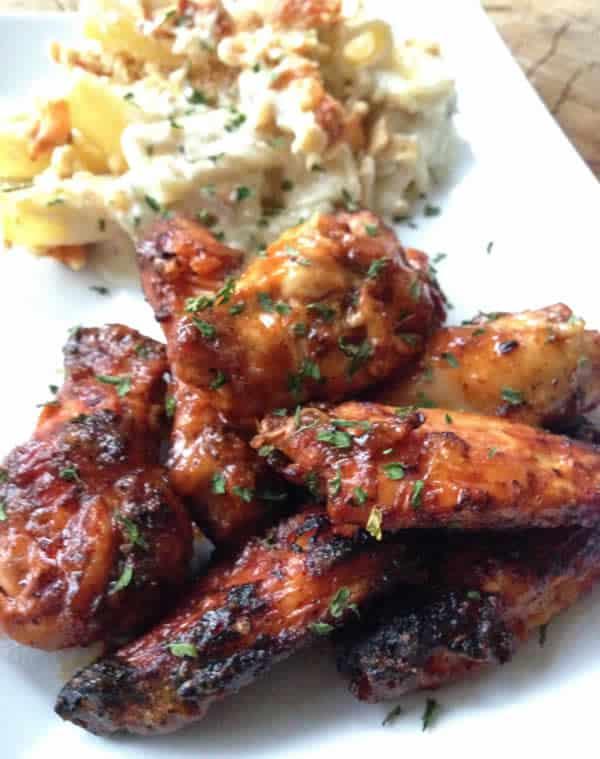 Recette Ailes de poulet au paprika cookeo