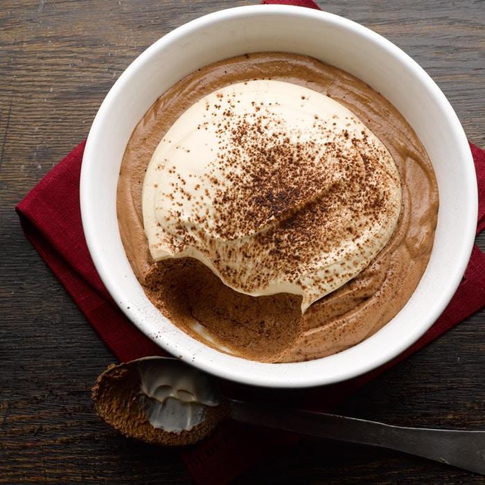 Recette Crème chocolat amer au mascarpone Thermomix