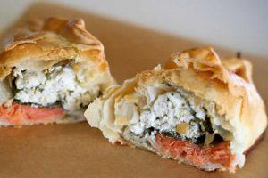 Recette Empanada de saumon et de champignons thermomix