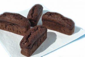Recette Financiers au chocolat thermomix