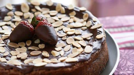 Recette Gâteau fondant au chocolat aux amandes Thermomix