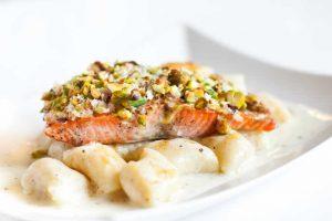Recette Gnocchis au saumon au cookeo