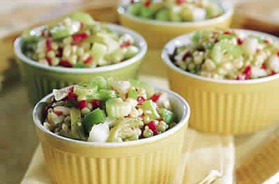 Recette Salade Jardinière de légumes au Thermomix