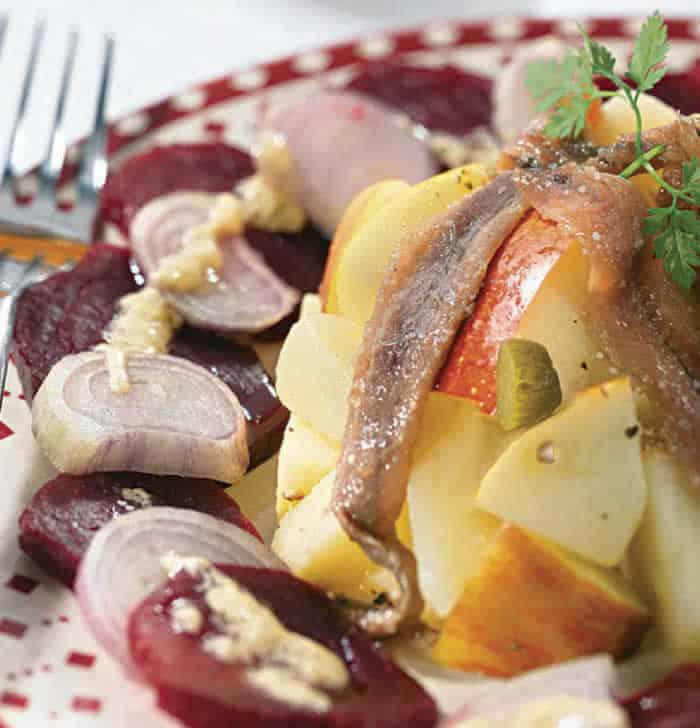 Recette Salade alsacienne