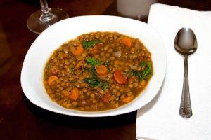 Recette Soupe de lentilles au cookeo