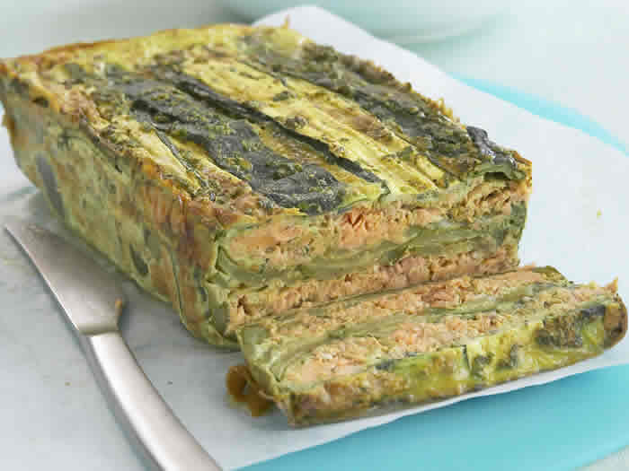 recette terrine de saumon et courgettes cookeo. Black Bedroom Furniture Sets. Home Design Ideas