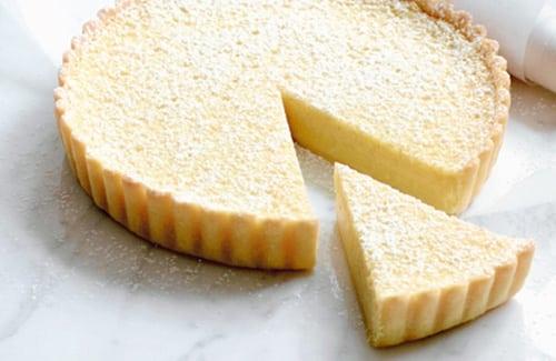 Tarte au fromage blanc citron