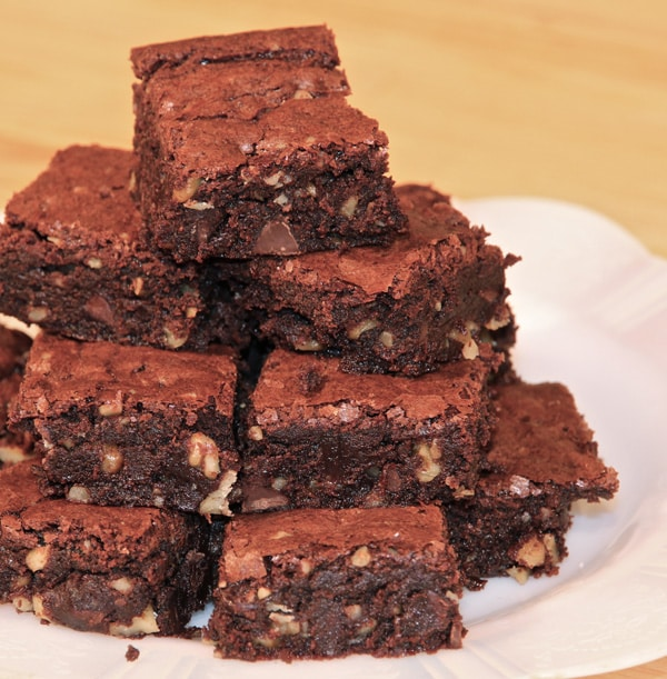 Brownies au chocolat noire thermomix