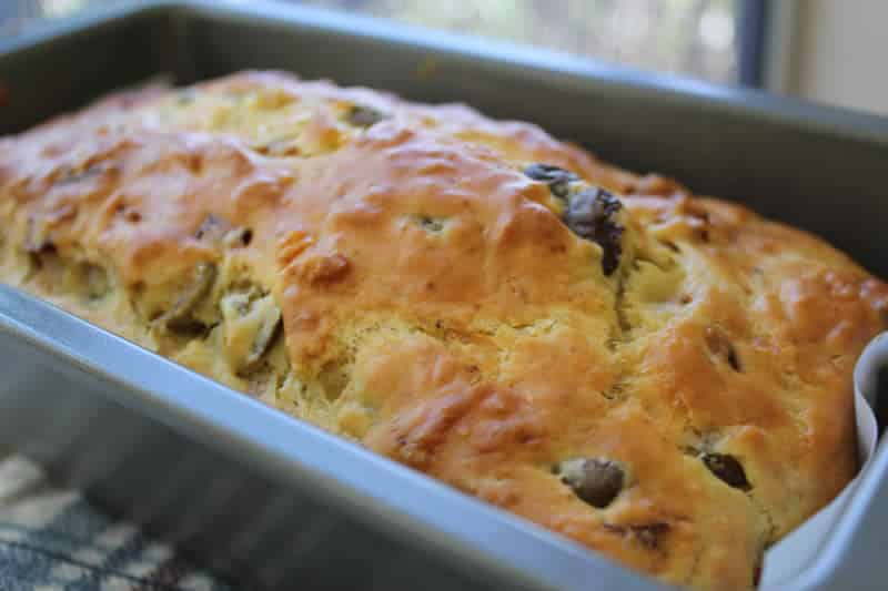 Bread Cake Courgette