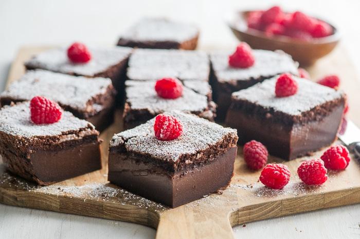 Gâteau Magique au chocolat thermomix