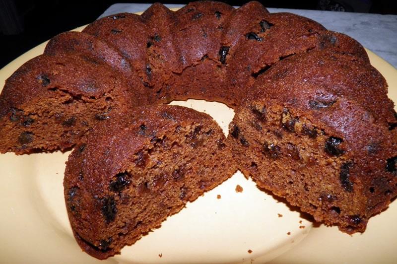 Gâteau au chocolat et aux raisins secs thermomix