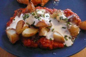 Patatas bravas rapide au cookeo