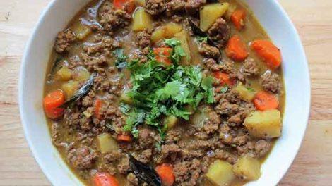 Ragoût de viande hachée (Picadillo) au thermomix