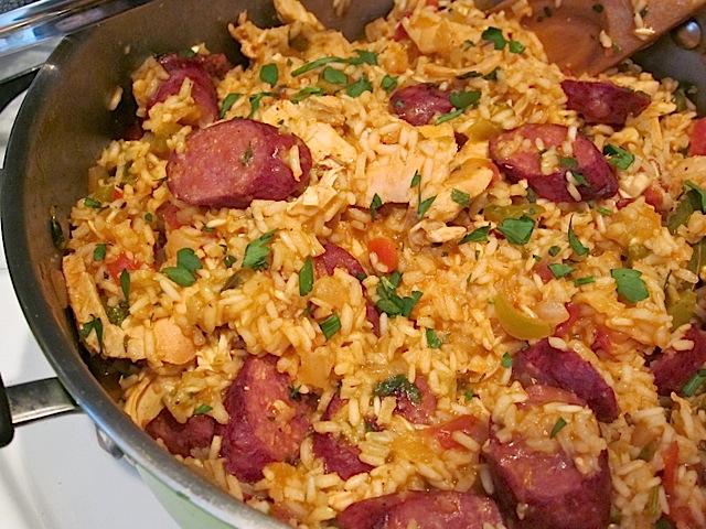 Risotto ou Jambalaya Chorizo et Poulet cookeo