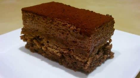 Royal au chocolat avec ou sans thermomix