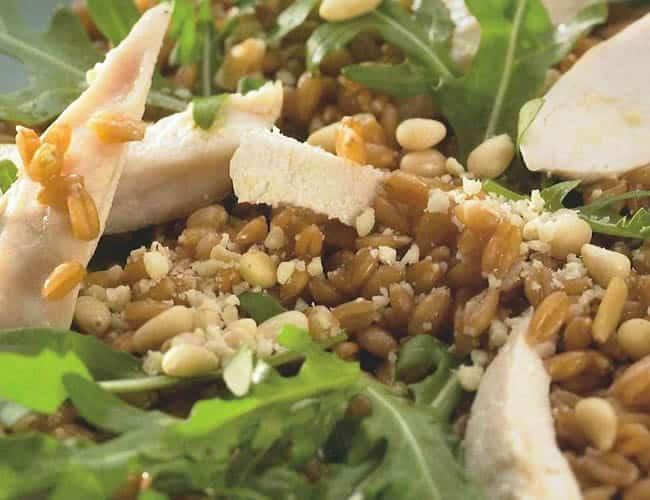 Poulet en salade au thermomix