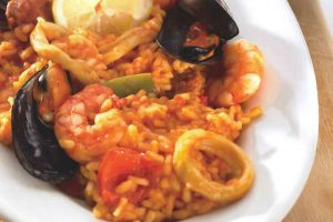 Risotto aux fruits de mer et chorizo thermomix