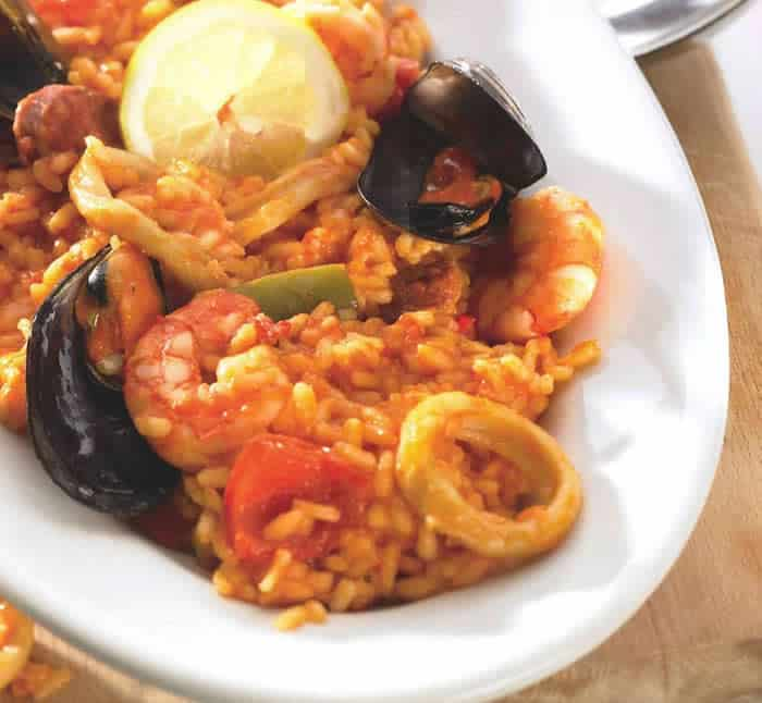 risotto aux fruits de mer et chorizo thermomix. Black Bedroom Furniture Sets. Home Design Ideas