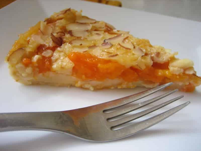 Clafoutis aux abricots et amandes thermomix