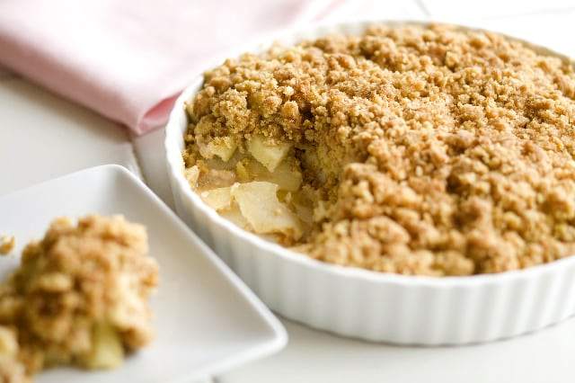 crumble aux pommes avec thermomix. Black Bedroom Furniture Sets. Home Design Ideas
