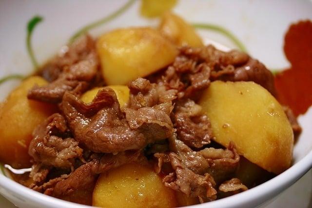 Sauté de veau et pomme de terre au thermomix