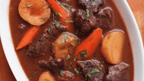 Boeuf aux carottes avec thermomix