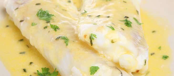 Filet de colin vapeur et sa sauce au citron avec thermomix