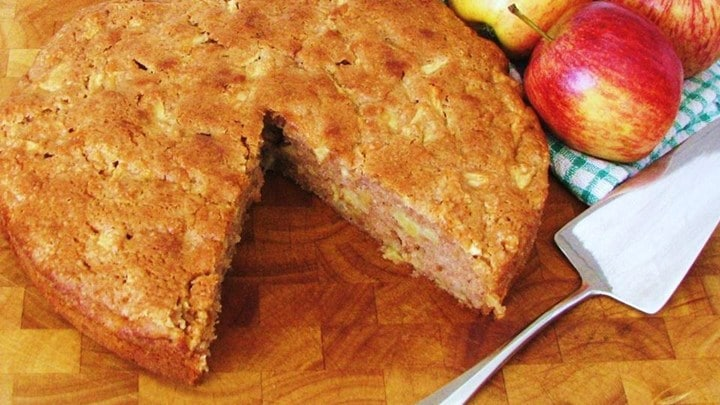 Gâteau rapide aux pommes avec thermomix