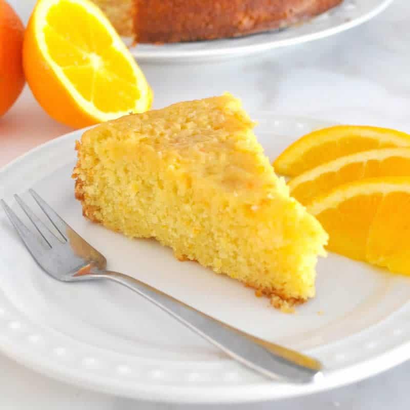 G teau moelleux l 39 orange avec thermomix recette facile et simple - Gateau simple thermomix ...