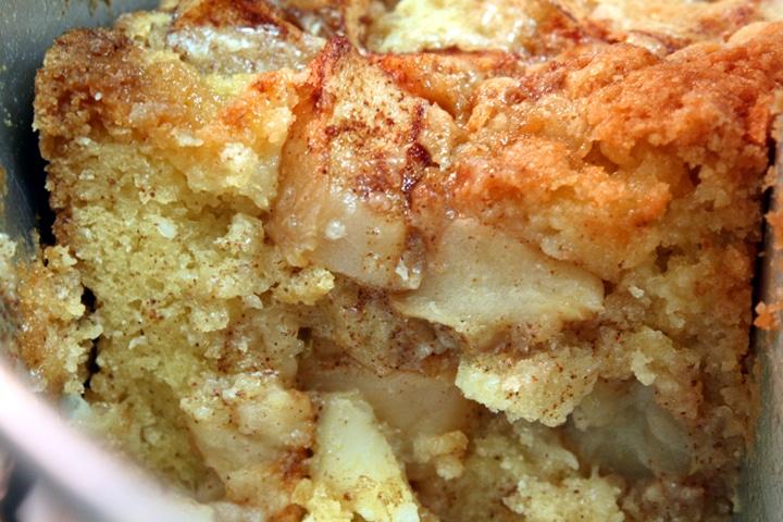 Gâteau moelleux aux pommes avec thermomix