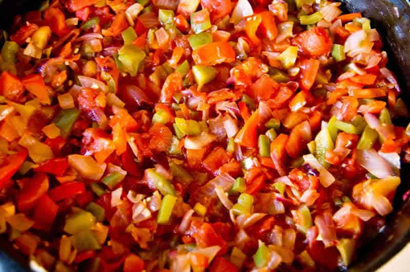 Piperade basque au thermomix