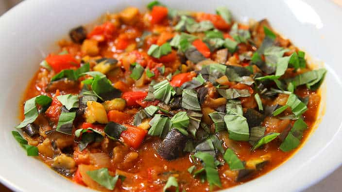 Ratatouille express au thermomix