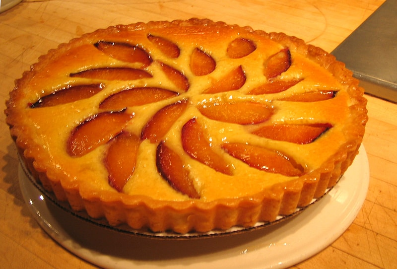 tarte amandine aux poires avec thermomix. Black Bedroom Furniture Sets. Home Design Ideas