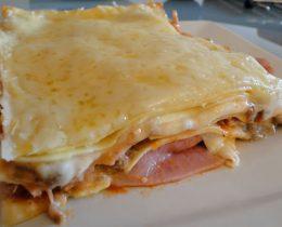 Lasagnes au jambon avec thermomix