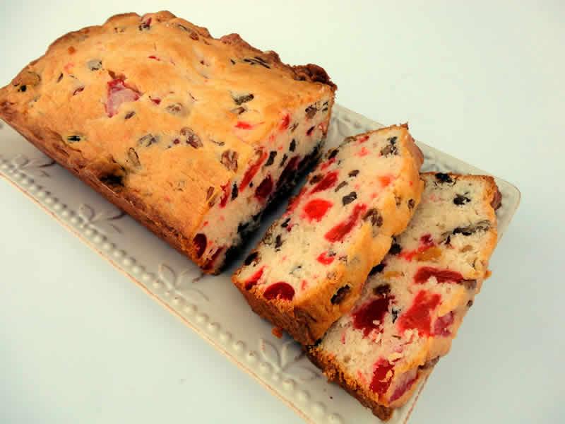 Cake aux fruits confits avec thermomix