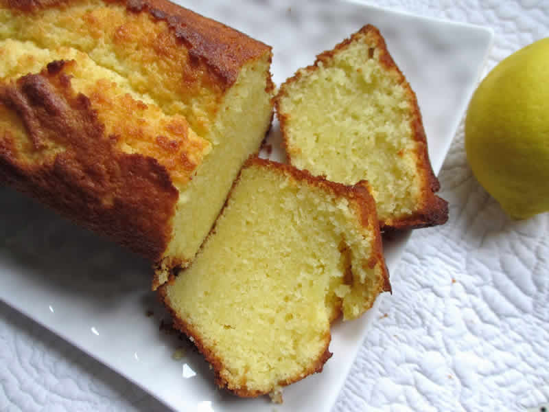 Recette Cake Sirop Citron