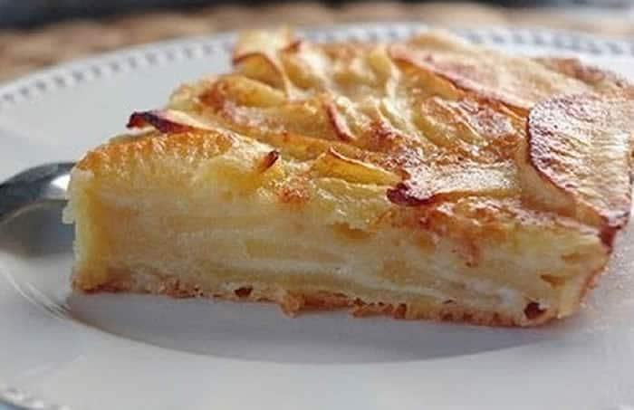 Gâteau invisible aux pommes avec thermomix