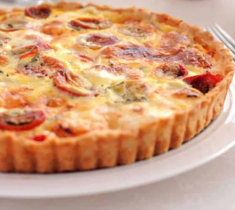 Tarte Thon Tomate Moutarde Au Thermomix Recette Facile