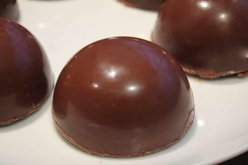Domes chocolat au thermomix