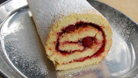 Gâteau roulé super rapide au thermomix