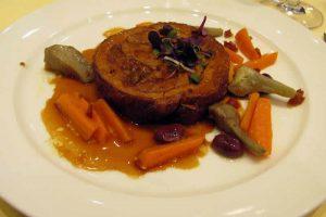 Poitrine de veau et carottes au cookeo