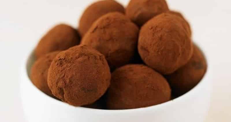 truffes au chocolat maison avec thermomix
